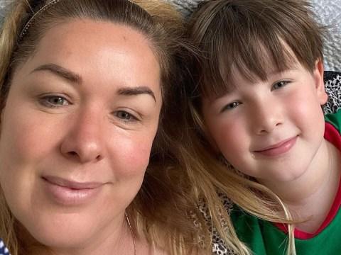 Claire Sweeney shares fears for son Jaxon as she 'fell ill with coronavirus' in January