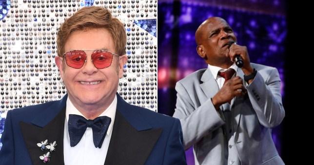 Elton John americas got talent