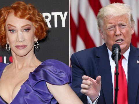 Kathy Griffin sparks outrage by tweeting President Donald Trump should 'inject air'