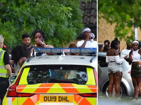 Police powerless to stop 300 people enjoying lockdown rave
