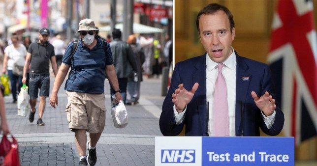 Scam phone calls and messages may pose as part of the NHS test and trace service (Picture: PA)
