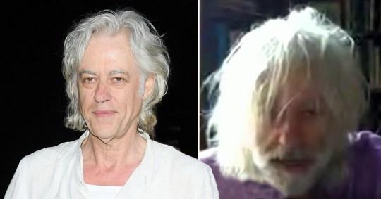 Bob Geldof on The One Show