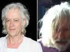 The One Show viewers freak out over Bob Geldof's overgrown hair and beard in lockdown