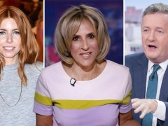 Piers Morgan and Stacey Dooley support Emily Maitlis after Dominic Cummings comments