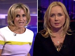 Newsnight's Katie Razzall insists Emily Maitlis was not asked by BBC to take night off