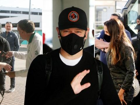 Matt Damon's Irish lockdown fairytale ends as he flies back to the US