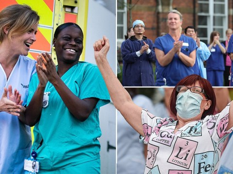 People across UK clap for carers for what could be the last time