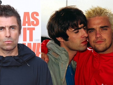 Liam Gallagher tells Robbie Williams to 'stay cool and in tune' as he sends olive branch brushing off feud
