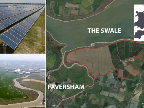 Britain's biggest solar farm will be size of 600 football pitches