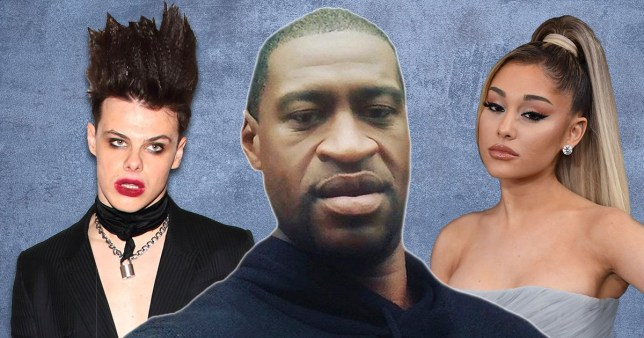 George Floyd, Ariana Grande, Yungblud