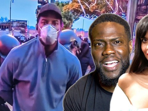 Kevin Hart and Jameela Jamil lead support for reporter Omar Jimenez after his arrest live on air