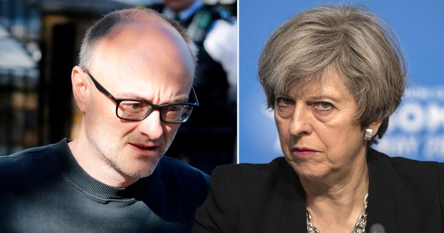 Theresa May weighs in on Dominic Cummings row