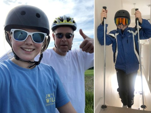 Meet the teen climbing Mount Everest in her house to raise money for her dad's brain tumour treatment