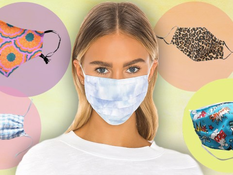 Where to buy face masks and coverings online that protect and look good