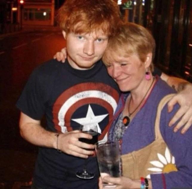 Ed Sheeran's mum becomes music teacher Picture: teddysphotos Verified METROGRAB