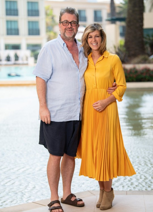 Kate Garraway and husband Derek