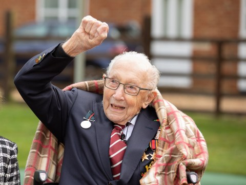 Colonel Tom Moore 'strikes £1,500,000 book deal' to tell his life story