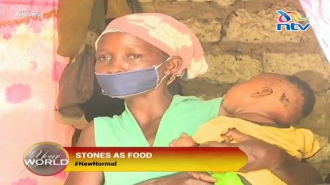 Starving mum cooks stones for hungry children in hope they'll fall asleep waiting for food TUKO