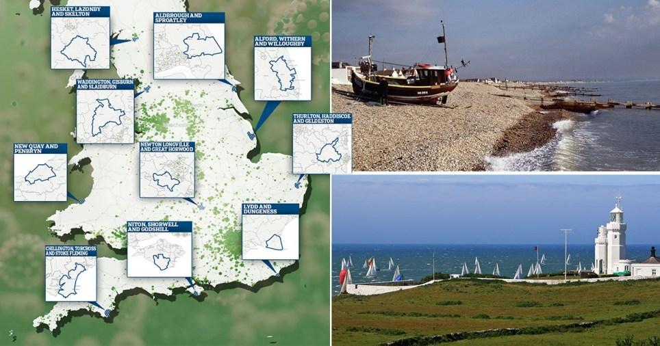Britain's coronavirus-free zones (Picture: Getty)