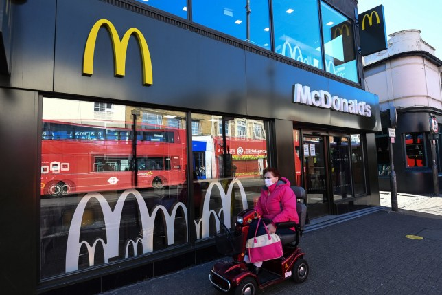 A McDonalds branch in Tooting, London, one of the 15 branches due to reopen for takeaway only on May 13. PA Photo. Picture date: Tuesday May 5, 2020. The stores, which are clustered around London and the South East, will offer a limited menu, including some vegetarian options, delivered within their local areas. See PA story CITY McDonalds. Photo credit should read: Kirsty O'Connor/PA Wire