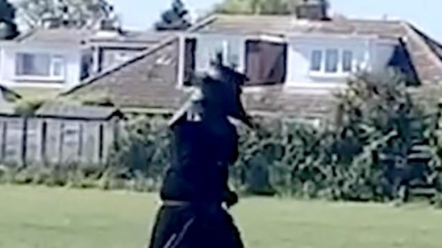 Police have identified the person going for walks in Norwich while dressed as a 17th-century plague doctor. Officers have confirmed that the person spotted in Hellesdon wearing a long black cloak, hat and pointed beak-like mask in recent weeks is a teenage boy. @Jade Gosbell