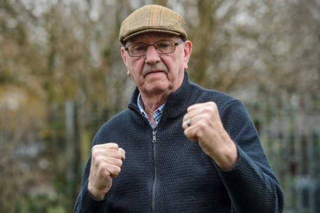 Picture of Trevor Weston who defended himself against a mugger