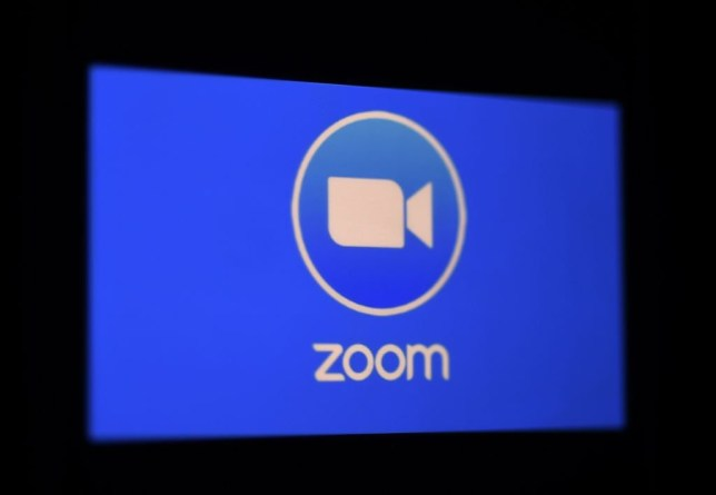 Stock image of the Zoom logo