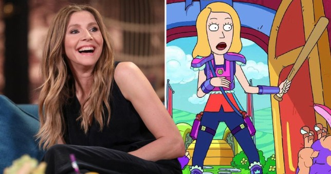 Sarah Chalke- Rick and Morty