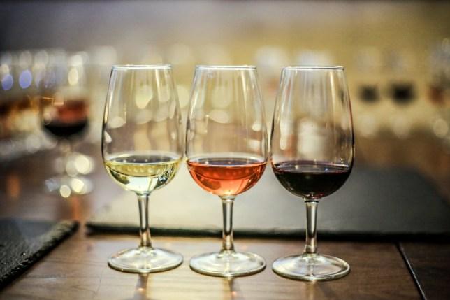 Stock image of wine