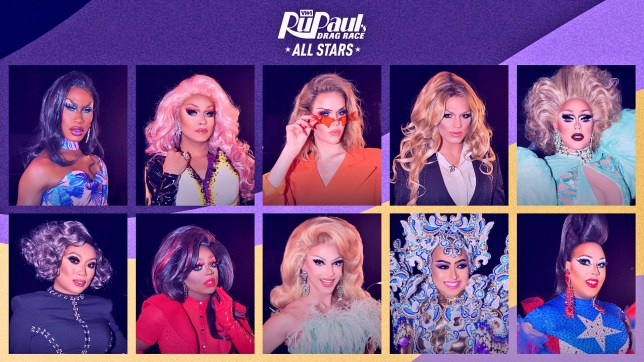 (Picture: VH1) VH1 ru-veals queens competing in new season of ?RuPaul?s Drag Race All Stars?premiering Friday, June 5th at 8PM ET/PT