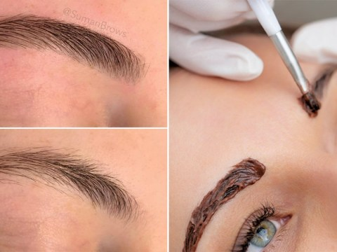 How to tint your eyebrows at home