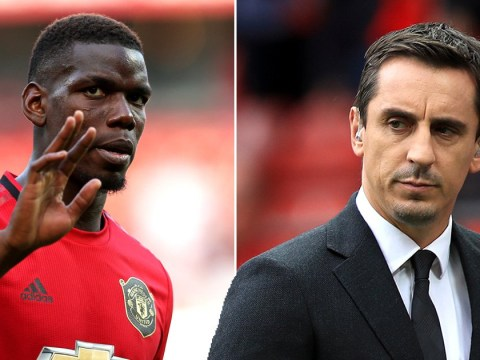 Gary Neville backs Paul Pogba as Manchester United star most likely to win Ballon d'Or