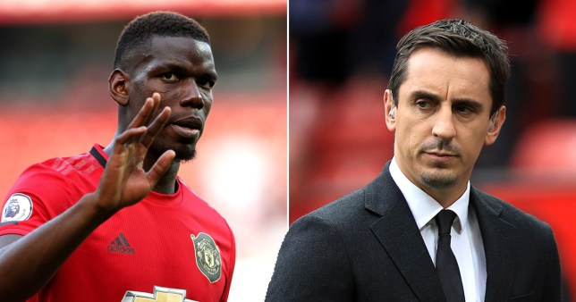 GNev says Pogba most likely to win Ballon d'Or at Man Utd