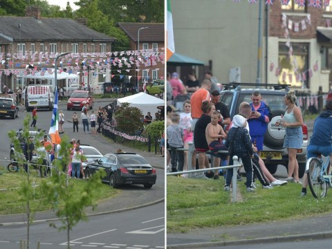'Stupid' street party ignoring lockdown rules continued into the early morning
