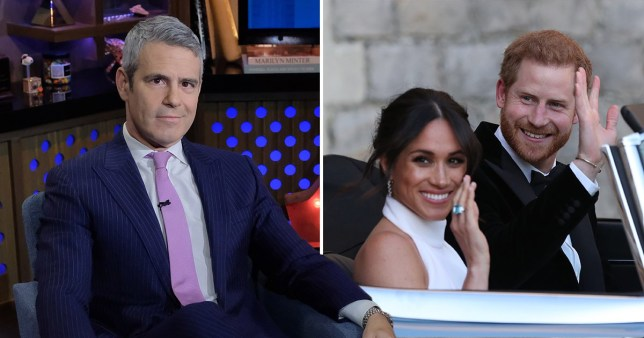 Andy Cohen wants to know if Meghan Markle 'planned to make a break' ahead of royal wedding (Picture: Getty)