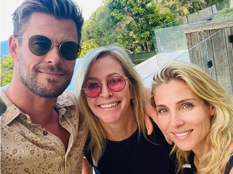 Chris Hemsworth 'salutes all the incredible mums' while sharing family snaps with mother Leonie and wife Elsa