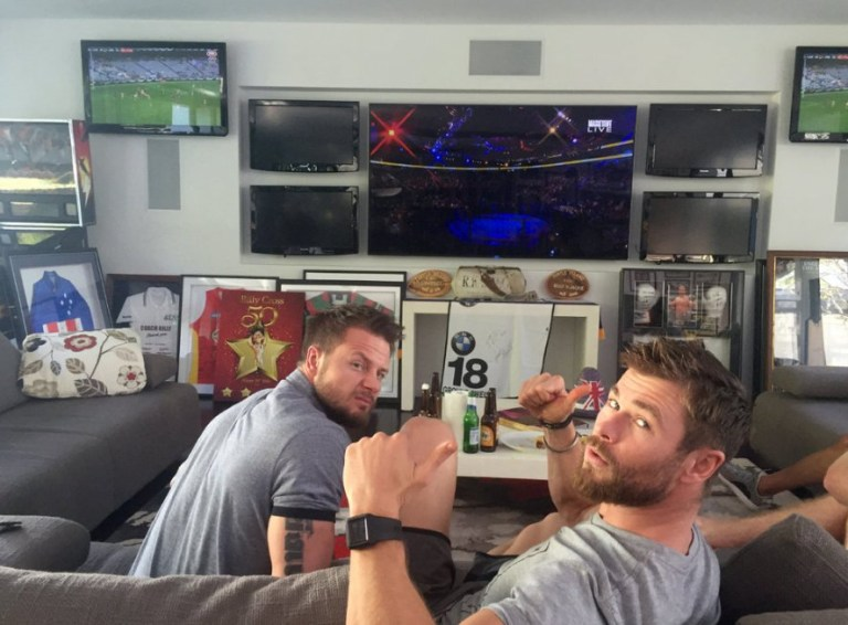 Chris Hemsworth's Thor stunt double Bobby Holland Hanton