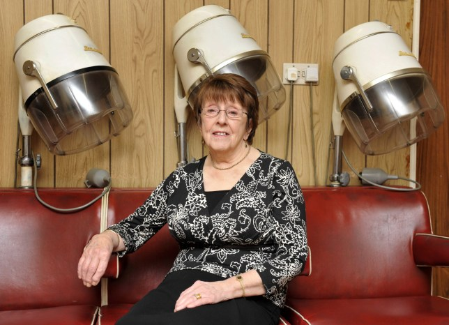 Margaret Sherlock from Chorley, Lancs.