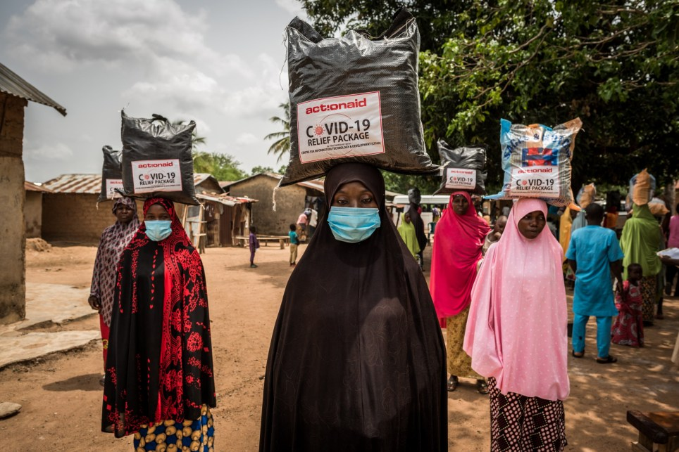 Female photographer documents COVID-19 response in Nigeria