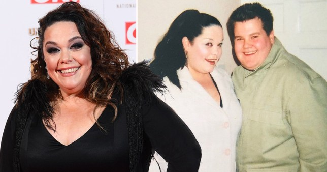 Lisa Riley and James Corden- Fat Friends throwback