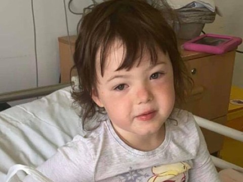 Girl, 4, in hospital with Kawasaki symptoms after 'waking up screaming'