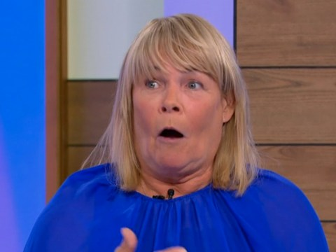 Linda Robson panics after accidentally revealing friend's partner might be cheating on Loose Women: 'Take that out!'