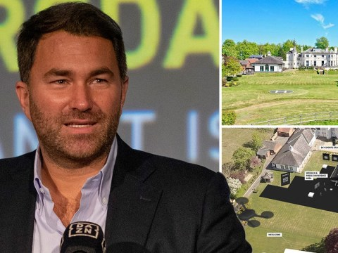 Eddie Hearn outlines plans to stage championship fights on lawn at Matchroom Boxing HQ