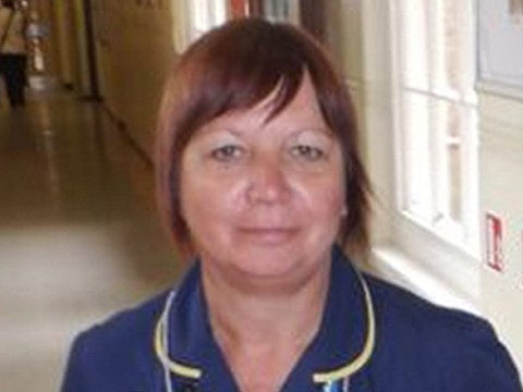 Emotional moment nurse who worked for the NHS for 40 years is clapped out of hospital