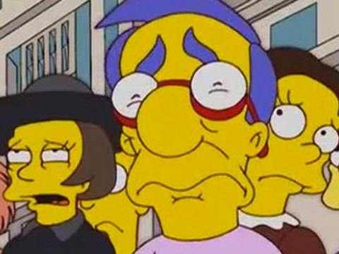 The Simpsons Toys R Us moment is actually really dark as viewers discover story behind Milhouse's expression