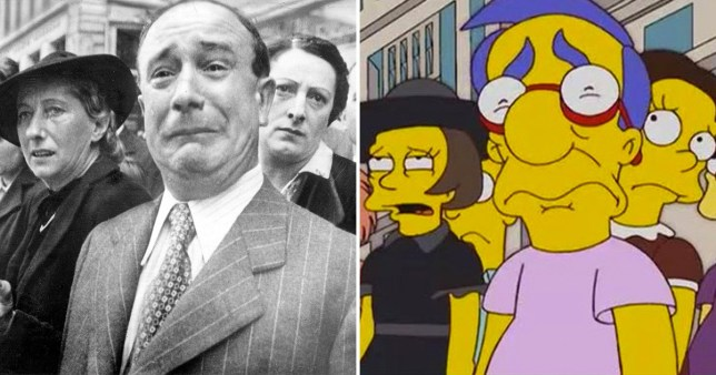 The Simpson's Milhouse and Divide and Conquer shot