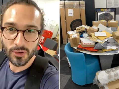 Joe Wicks can't believe it as he's inundated with fan mail at his Body Coach HQ: 'Have a laugh!'