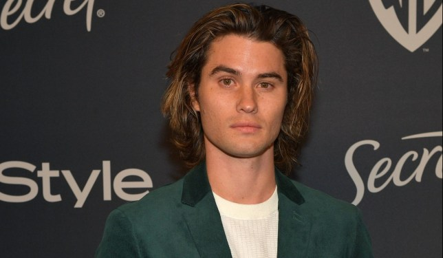 Chase Stokes attends The 2020 InStyle And Warner Bros. 77th Annual Golden Globe Awards Post-Party at The Beverly Hilton Hotel