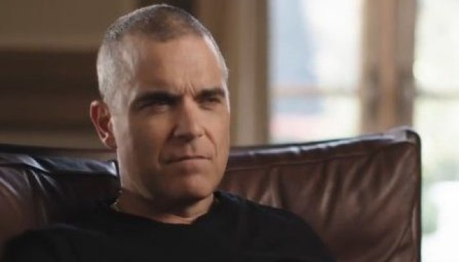 Robbie Williams talking about his depression and body image