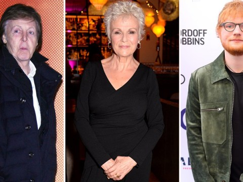 Paul McCartney, Julie Walters and Ed Sheeran lead the stars contributing letters to NHS charity book